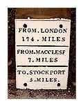 Poynton Distance Sign